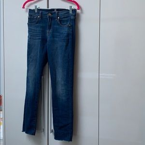 Almost New Roxanne Ankle 7 Jeans